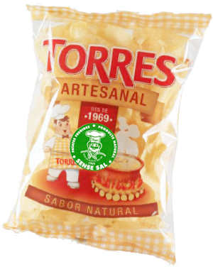 Unsalted Artesanal Potato Chips