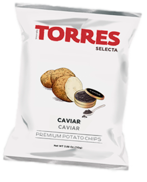 Selecta Potato Chips Caviar